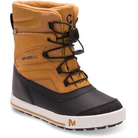 Merrell Snow Bank 2.0 Waterproof - Botas Niños - marrón/negro